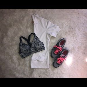 Lucy Short Sleeve Zip up workout jacket